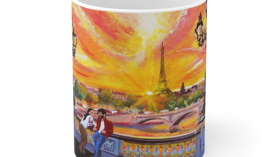 Paris art Mug 11oz