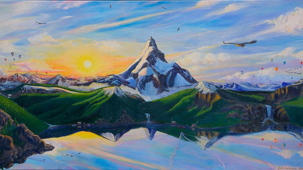 Eagle Mountain Print