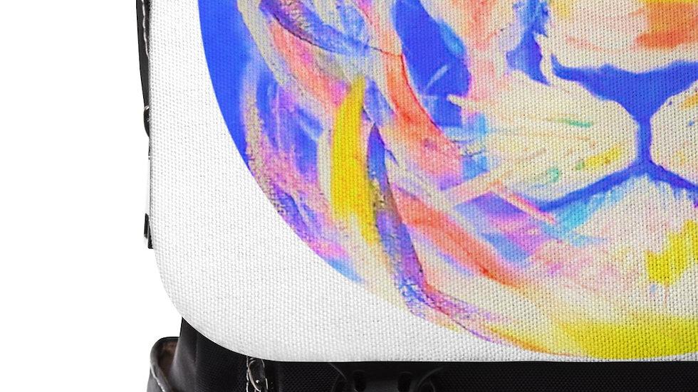 Lion of Judah Unisex Casual Shoulder Backpack