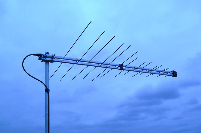 Got a tired old bent antenna dangling off your roof?  Call TV Solutions today!