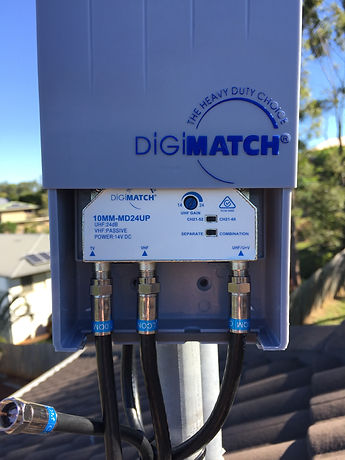 TV signal amplifier, booster, home and comercial tv antenna installation, repair poor tv signal, antenna booster, narangba, north lakes, caboolture, redcliffe