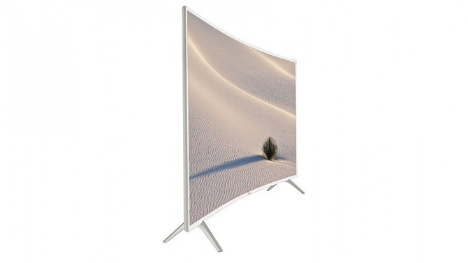 Samsung's new Pure & White UHD Curved TVs