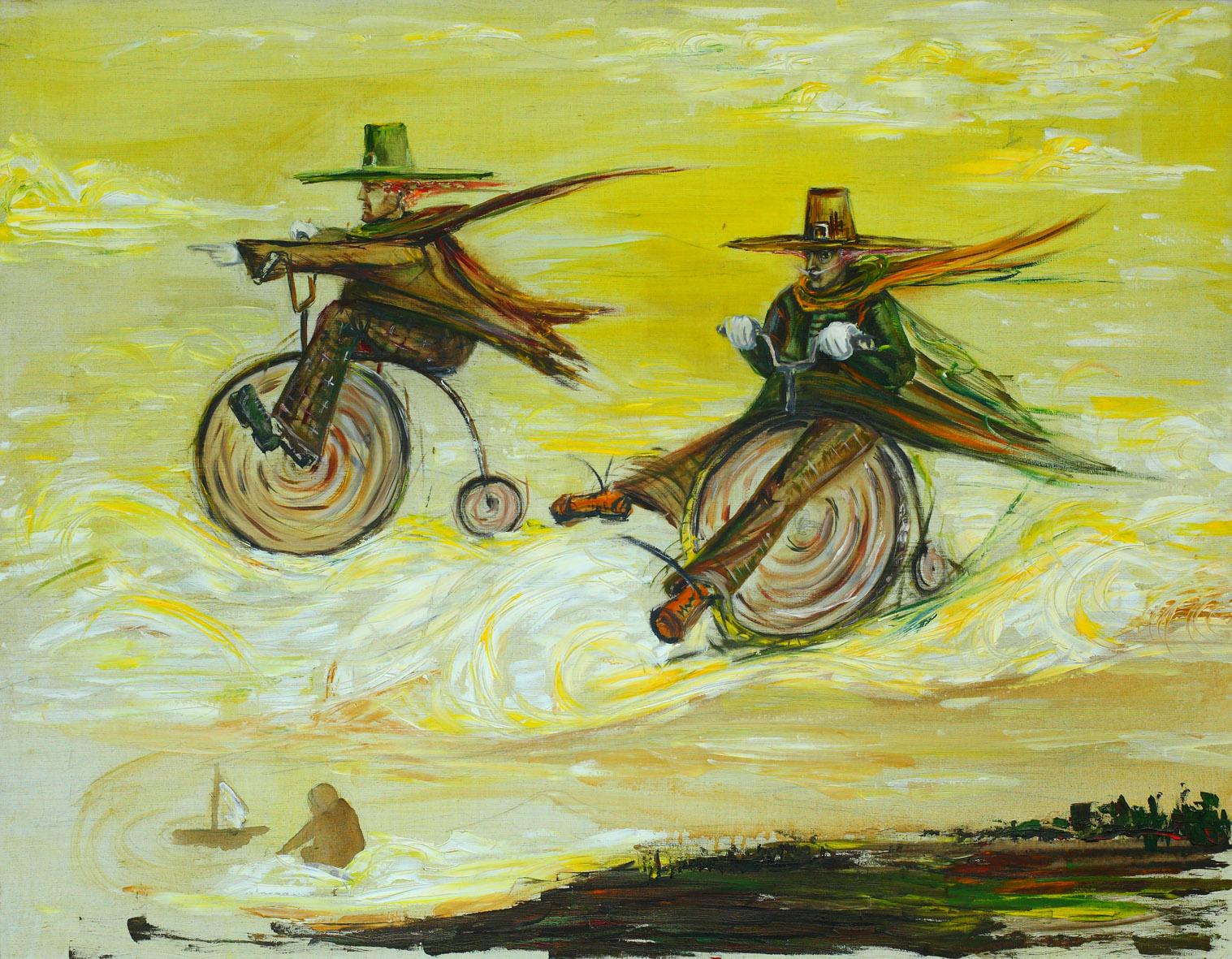 """""""Sky bikers""""."""