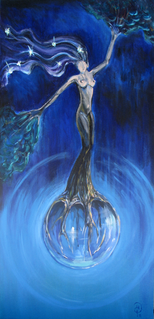 """""""Lady of the Earth""""."""