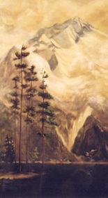 Whistler Fairmont Mural