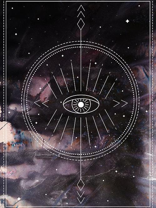 Gods Eye Print