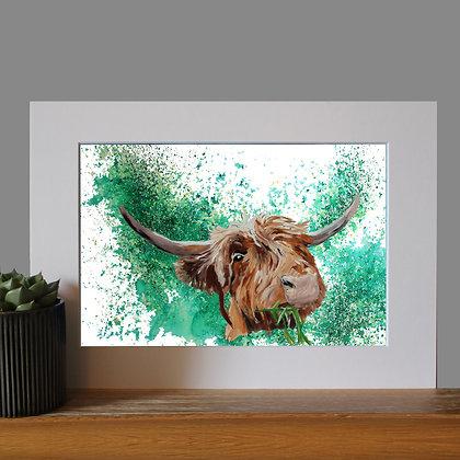 Highland Cow Print LD