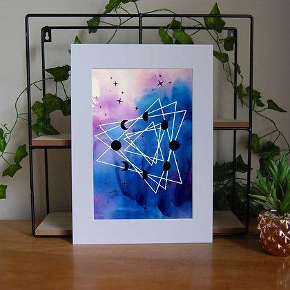Moon Cycle Print LD