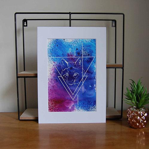 Purple Fox - Print