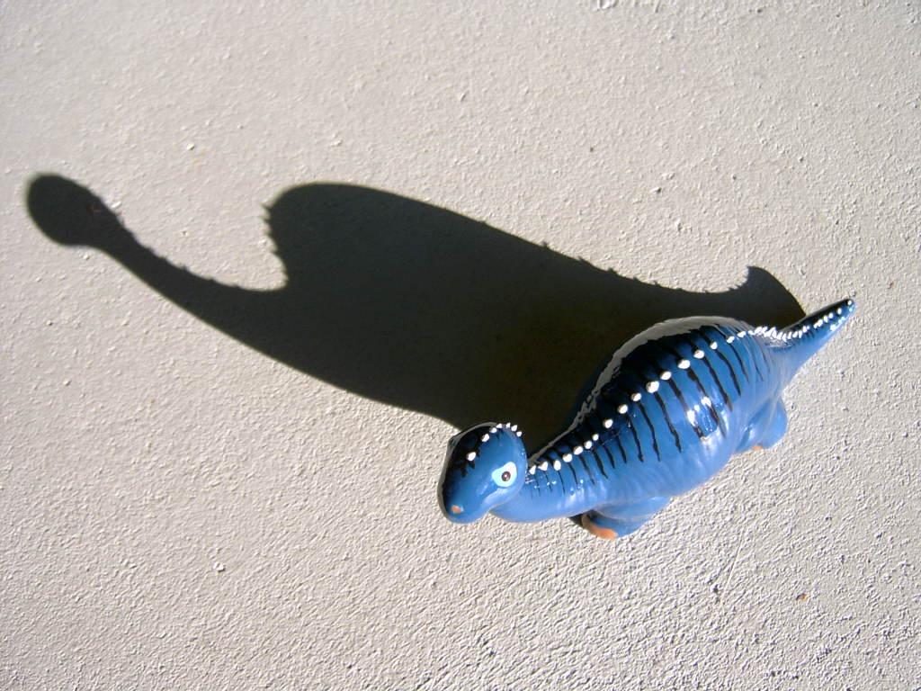 blauer dino