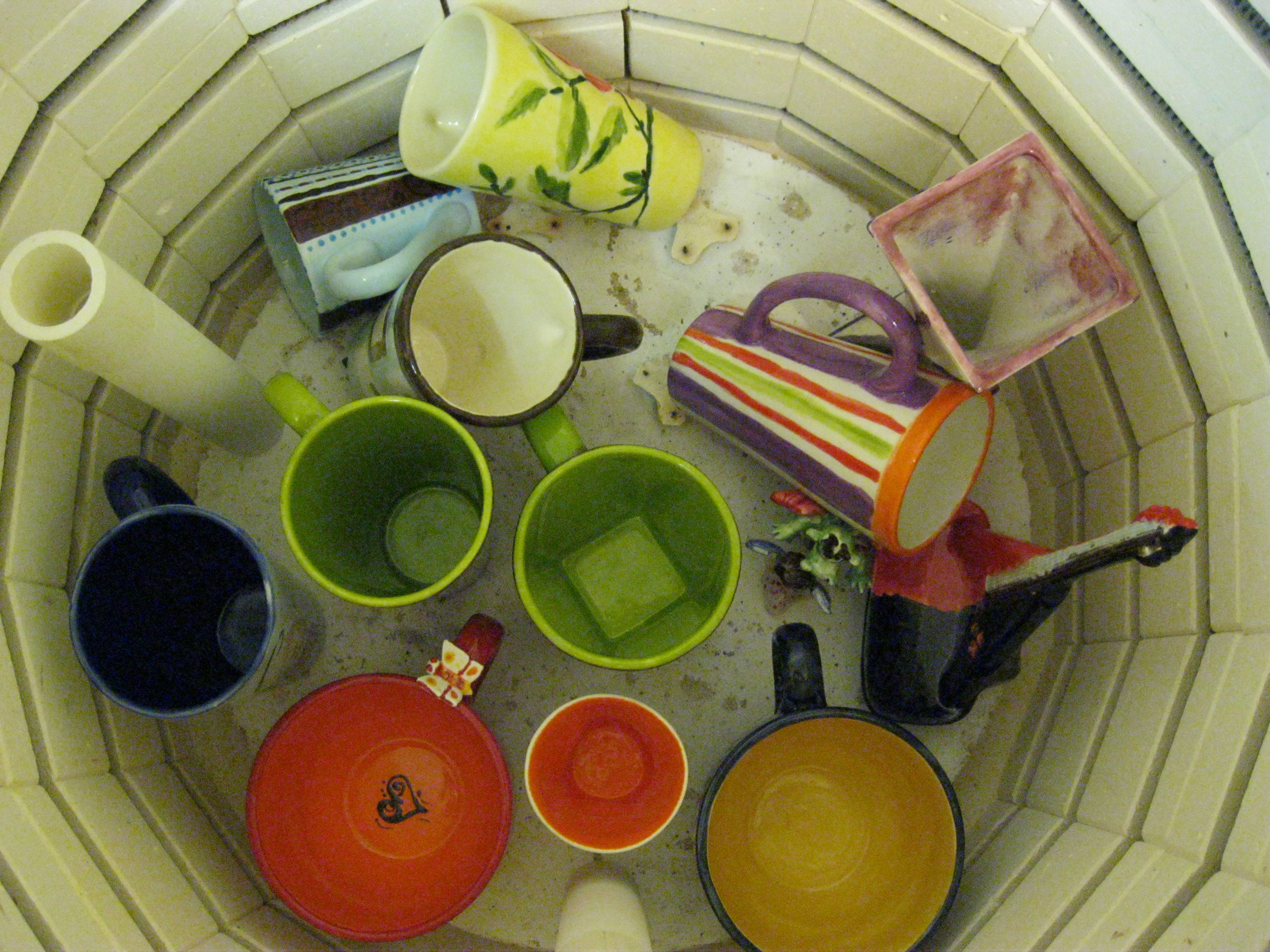 opening our kiln