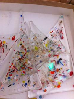 konfetti glas