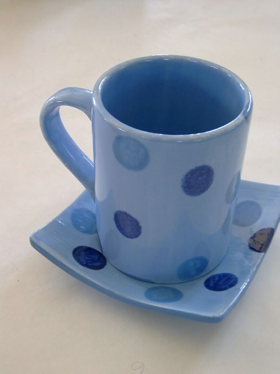 cup against the blues