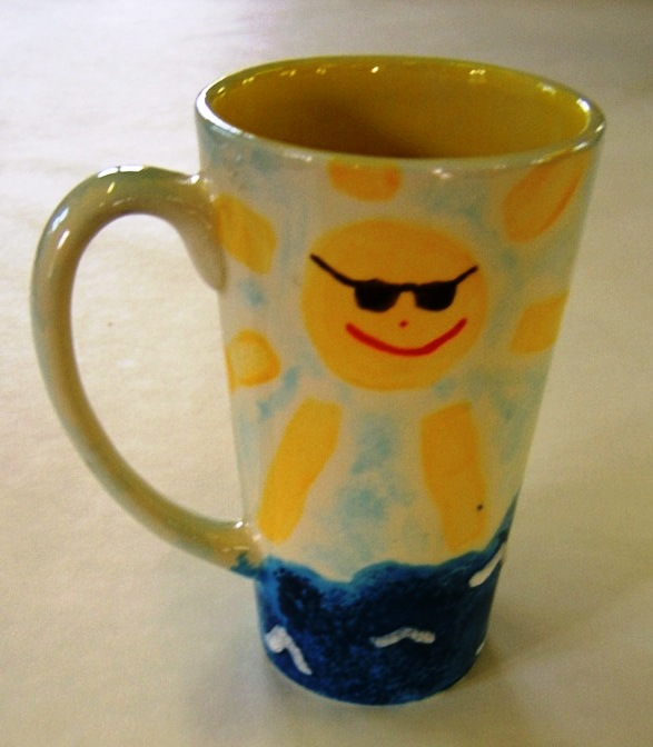 lara's first cup, 2005 or 6