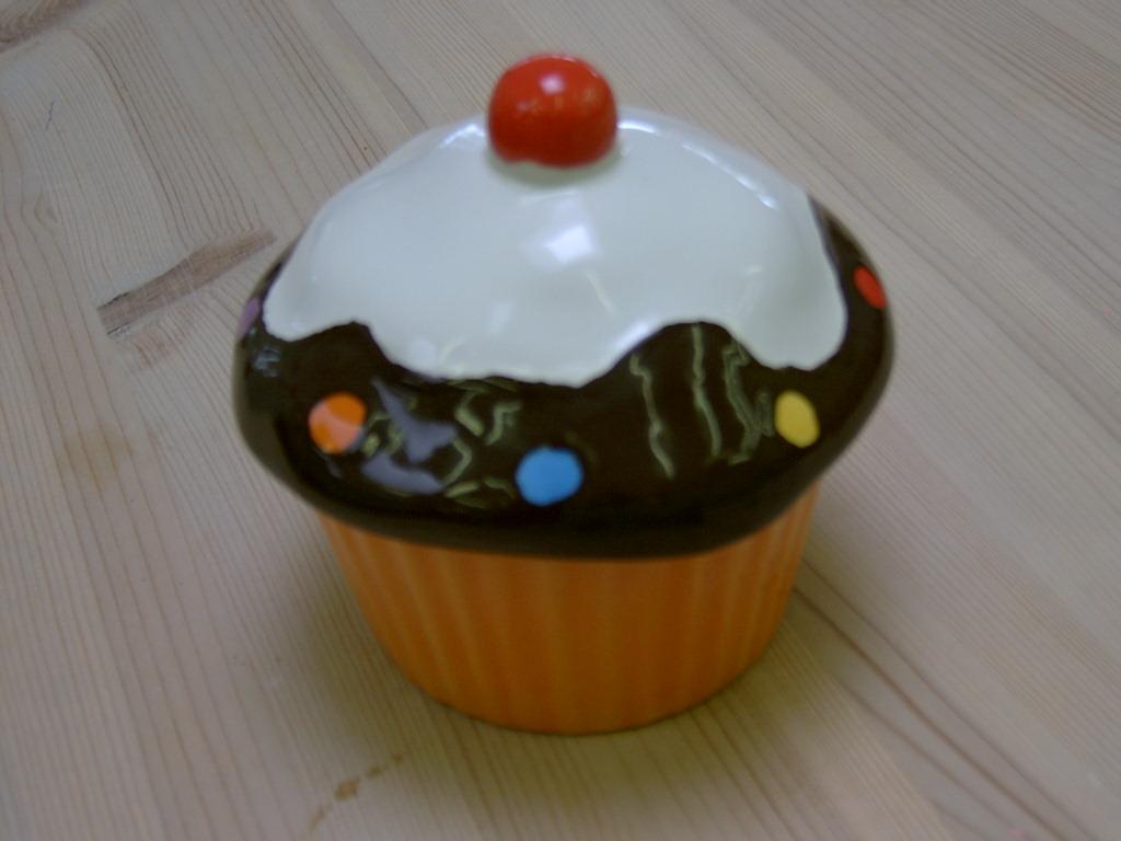 cup cake -- naturgetreu