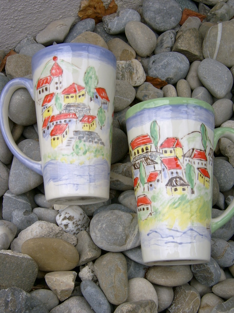 tuscan villages, freehanded!