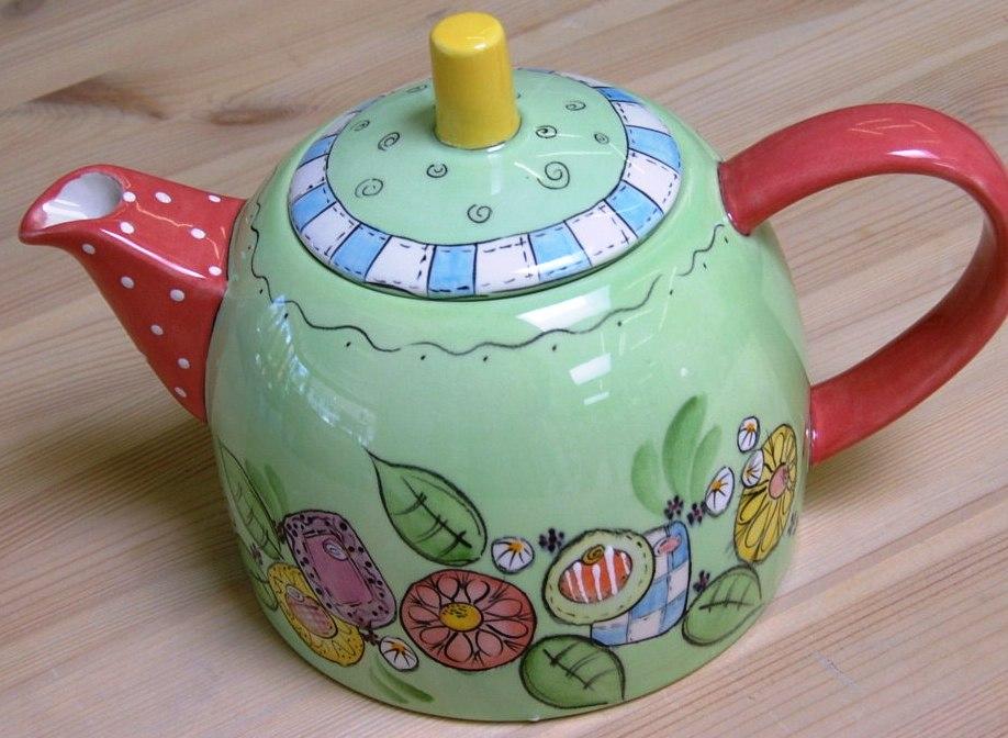 WOW teapot