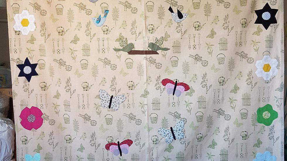 Kırkyama Perde / Patchwork Curtain