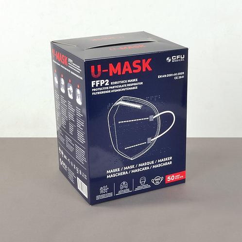 50'li Koruyucu Yüz Maskesi FFP2