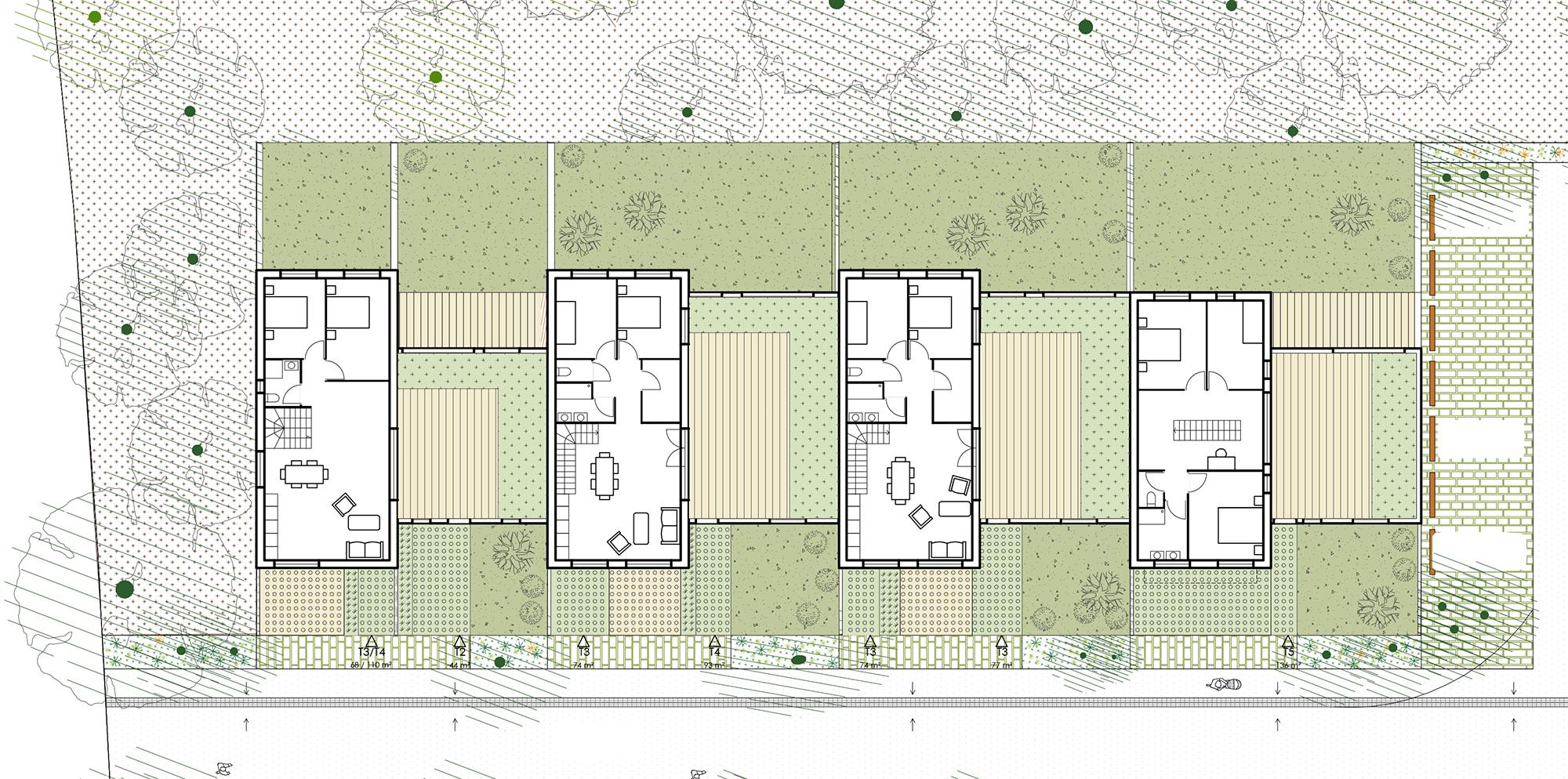 KOGI-Malville - maisons doubles - R+1