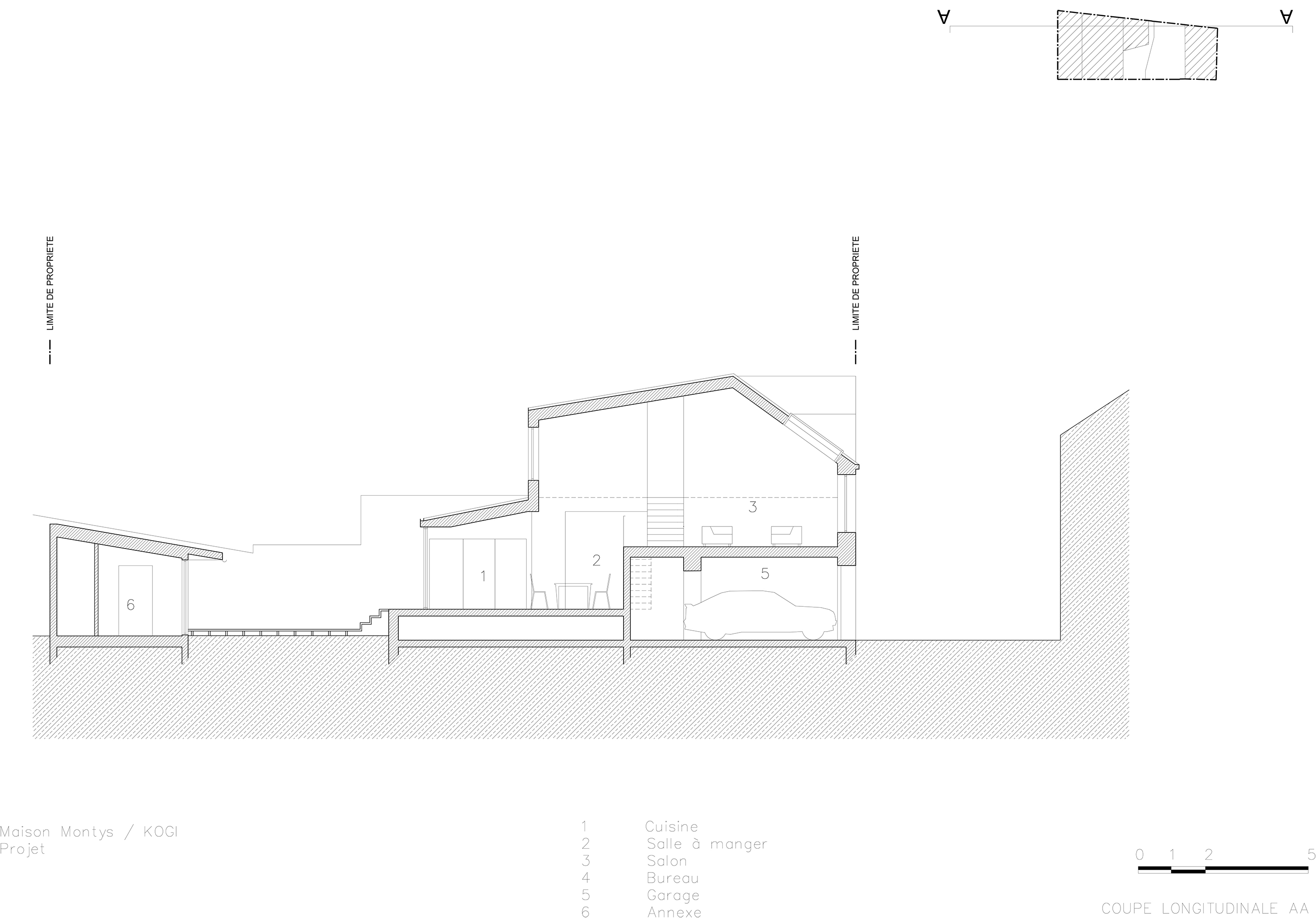 KOGI-Maison Montys - Projet - Coupe AA