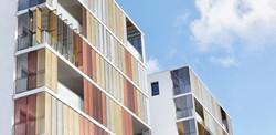 Vêture des balcons filants - métal