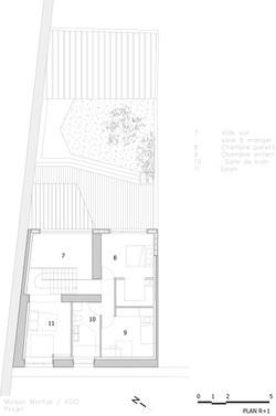 KOGI-Maison Montys - Projet - Plan R+1