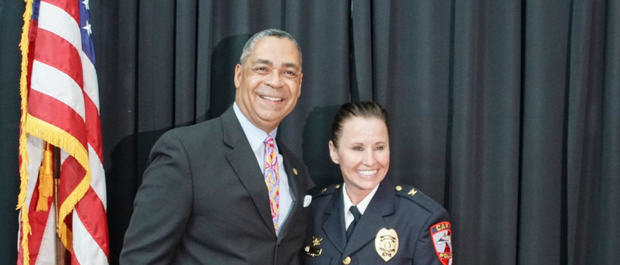 Chief Toni Dezomits Pinning  June 27. 20