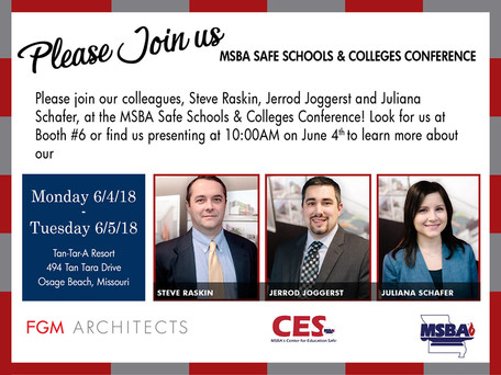 Join Us at the MSBA Safe Schools & Colleges Conference!