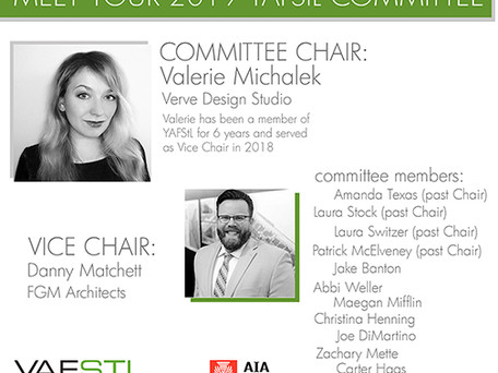 Congratulations to Danny Matchett on becoming Vice Chair for YAFStL!