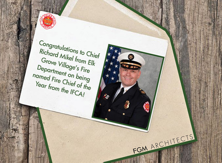 Congratulations to Chief Richard Mikel!