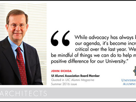 GM President and CEO John Ochoa Joins UI Alumni Association in Nation's Capital