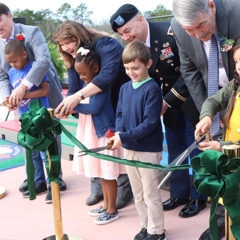 Pierce Terrace Elementary School Ribbon Cutting