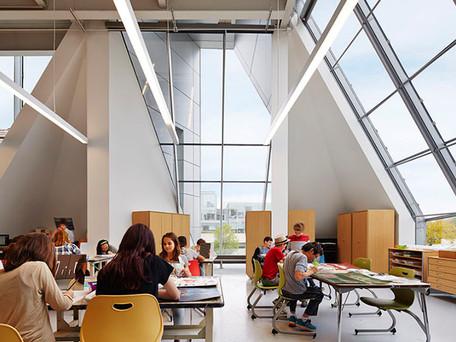 U of C Lab Schools Gordon Parks Arts Hall Awarded IIDA Illinois Chapter RED Award