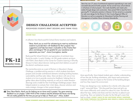PK–12 Perspectives: Design Challenge Accepted