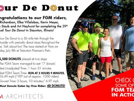 FGM Riders Complete Tour De Donut!