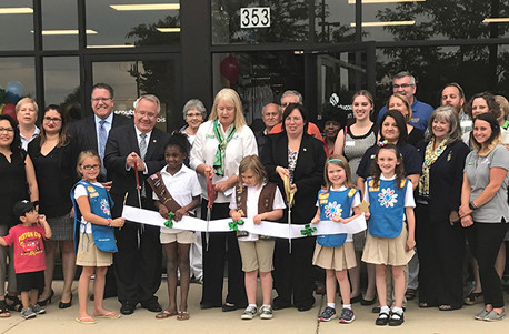 Girl Scouts of Northern Illinois Ribbon Cutting