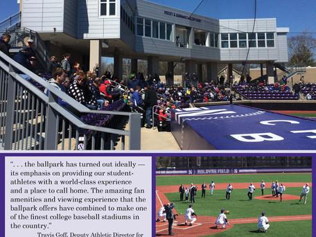 Northwestern University Rocky and Berenice Miller Park Grand Opening