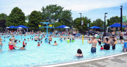Deerfield Park District Holds Grand Opening for Mitchell Pool