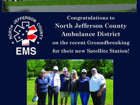 North Jefferson County Ambulance District Holds Ground Break Ceremony for New Satellite Station