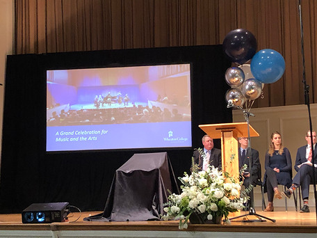 Grand Celebration for Music & the Arts at Wheaton College