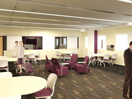 Prairie Ridge High School Holds Dedication for New Business Incubator Lab