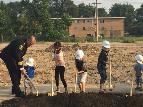 St. Charles Police Station Groundbreaking