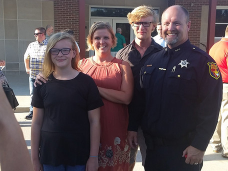 Lincoln Police Department Building Dedication