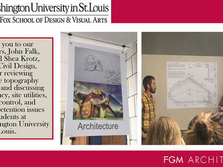 FGM Architects Partners with WashU architecture students & Rockwood School District – Part 2
