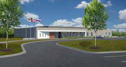 The Village of Addison Breaks Ground on the site of the future Addison Consolidated Dispatch Center
