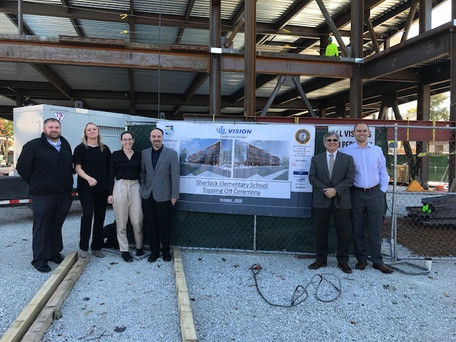 "Cicero District 99 ""Topping off"" Ceremony"