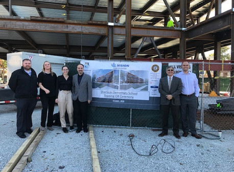 """Cicero District 99 """"Topping off"""" Ceremony"""