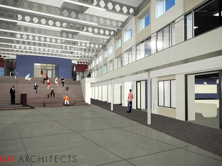 Morton West High School's New Freshman Academy Great Room