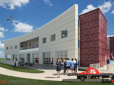 Engineering students at SIU Edwardsville will soon have a new student design center!